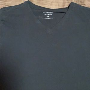 Express black v neck